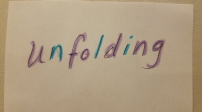 This Week in Yoga ~ Unfolding